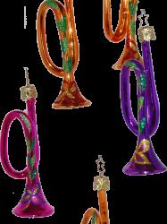 Trompeten Christbaumschmuck