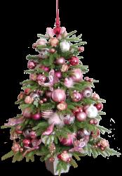 Weihnachtsbaum bordeaux