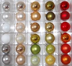 Trendfarben im Weihnachtstrend 2014