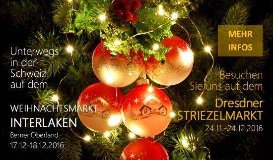 christbaumkugel.com auf Dresdner Striezelmarkt